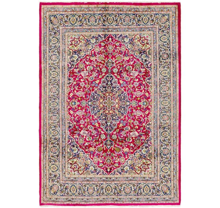 203cm x 295cm Mashad Persian Rug
