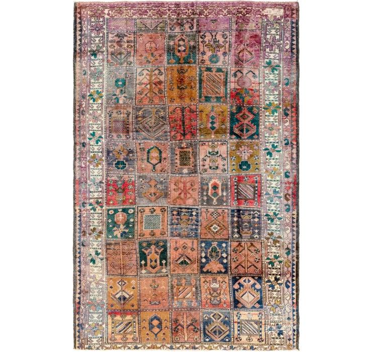6' 8 x 10' 5 Hamedan Persian Rug