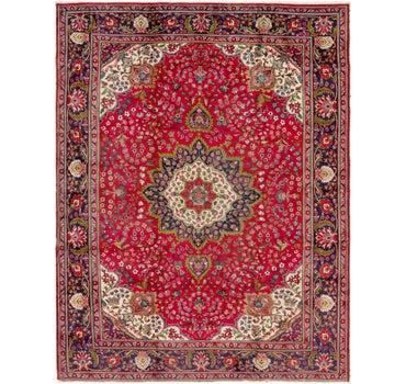 9' 8 x 12' 7 Tabriz Persian Rug main image