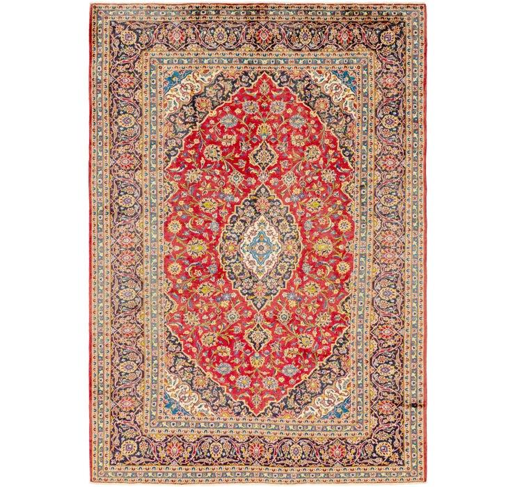 245cm x 360cm Kashan Persian Rug