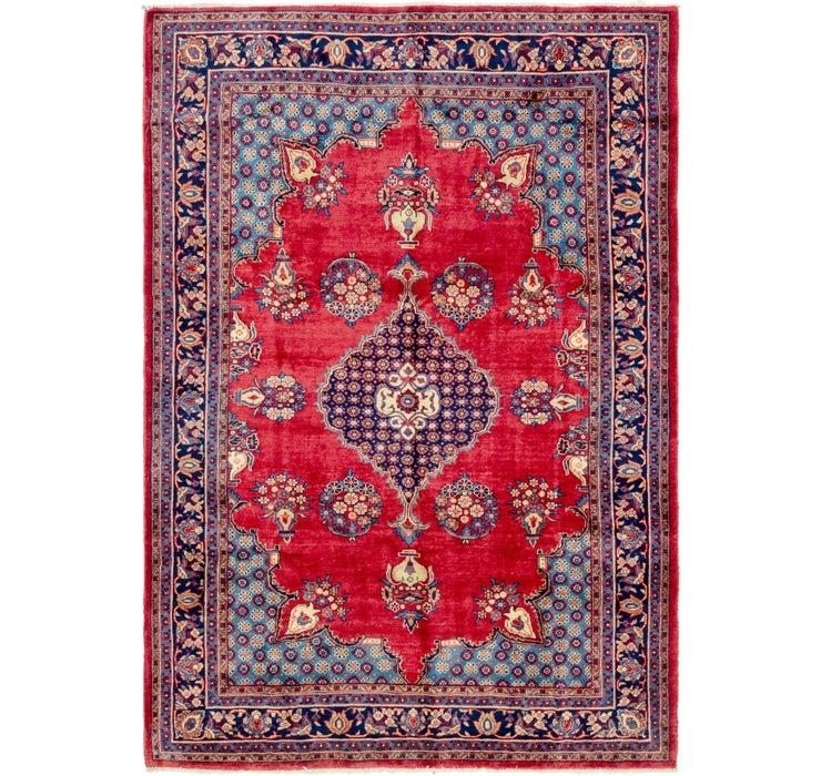 7' 7 x 10' 10 Golpayegan Persian Rug