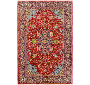 Image of 7' x 10' 7 Golpayegan Persian Rug
