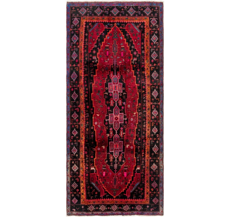 4' x 9' 10 Gholtogh Persian Runner...