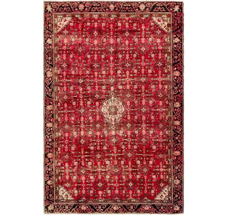 6' 10 x 10' 6 Hossainabad Persian Rug