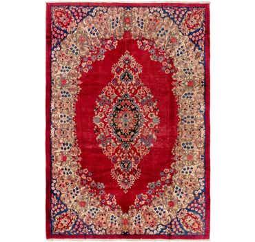 Image of 7' x 10' 2 Yazd Persian Rug