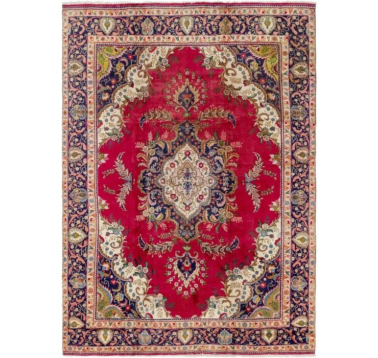 275cm x 395cm Tabriz Persian Rug