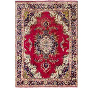 Image of  9' x 13' Tabriz Persian Rug