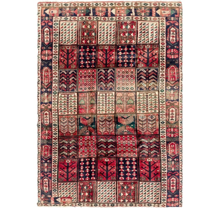 183cm x 275cm Bakhtiar Persian Rug