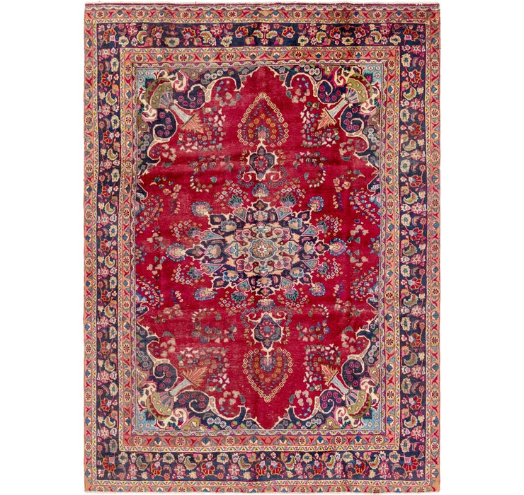 235cm x 330cm Mashad Persian Rug