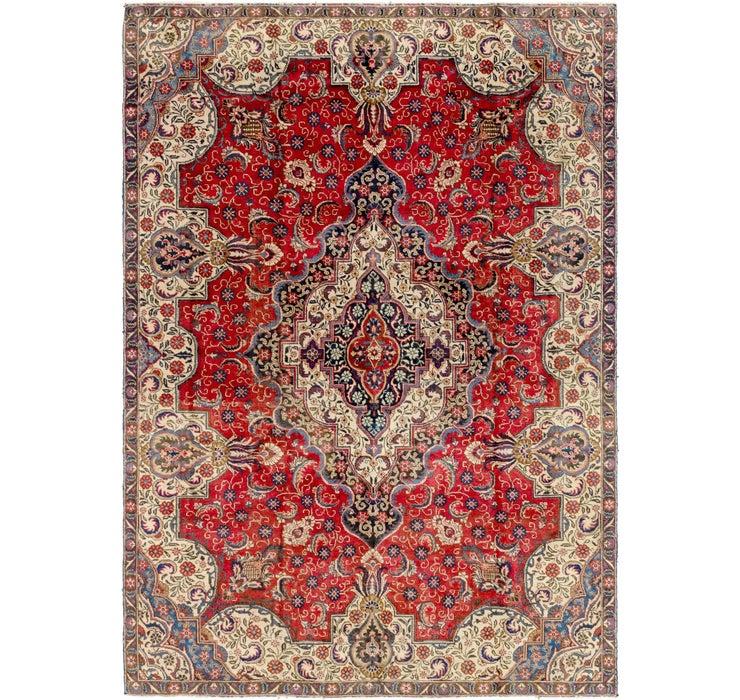 7' 5 x 10' 5 Tabriz Persian Rug