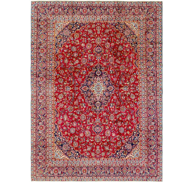 280cm x 390cm Mashad Persian Rug