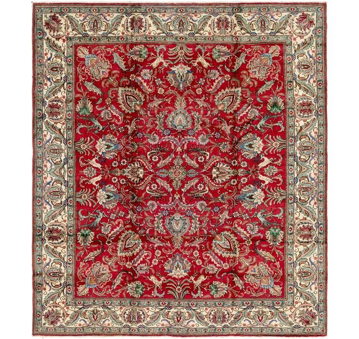 292cm x 335cm Tabriz Persian Rug