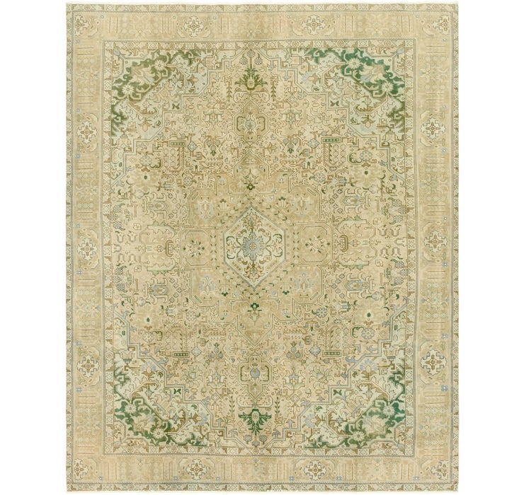 9' 9 x 12' 7 Ultra Vintage Persian Rug