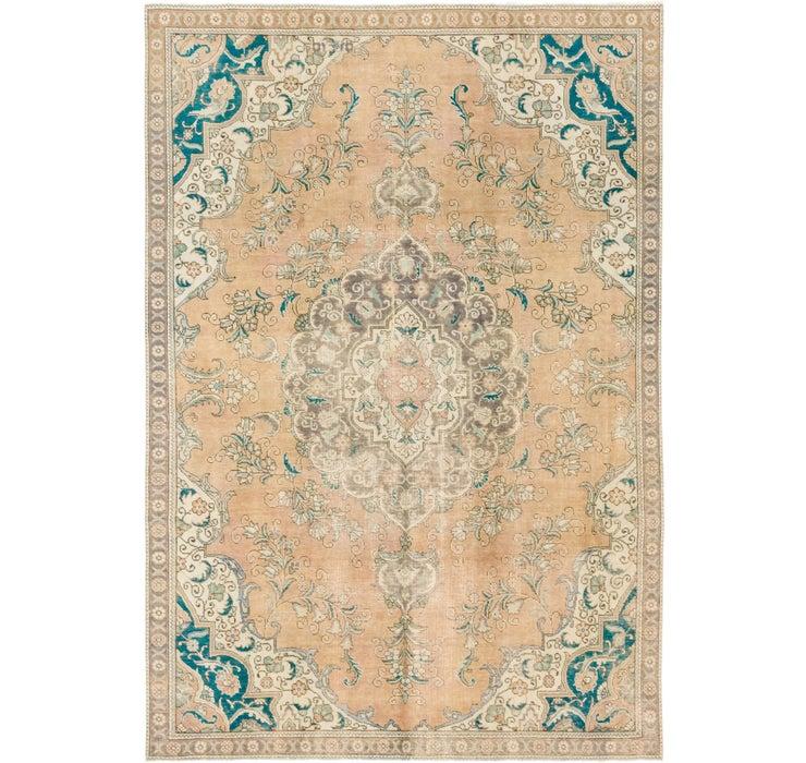 7' 5 x 10' 9 Ultra Vintage Persian Rug