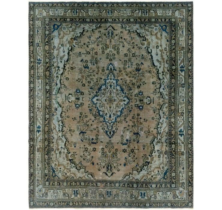 8' x 10' 8 Ultra Vintage Persian Rug