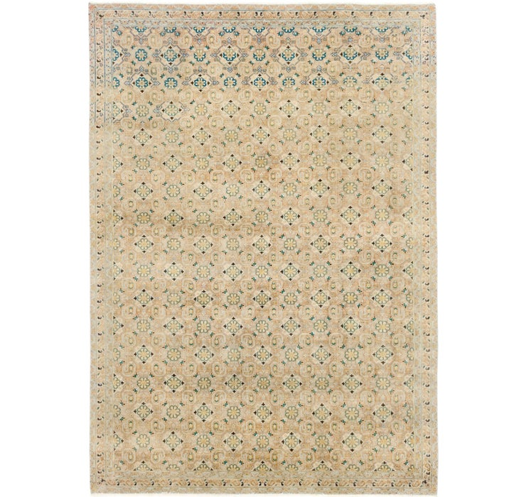 7' x 10' Ultra Vintage Persian Rug