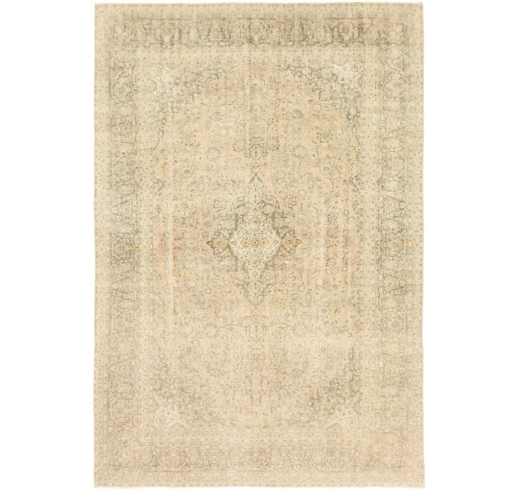 9' 4 x 13' 10 Ultra Vintage Persian Rug