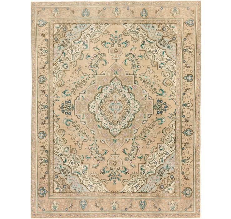 9' 8 x 12' 3 Ultra Vintage Persian Rug