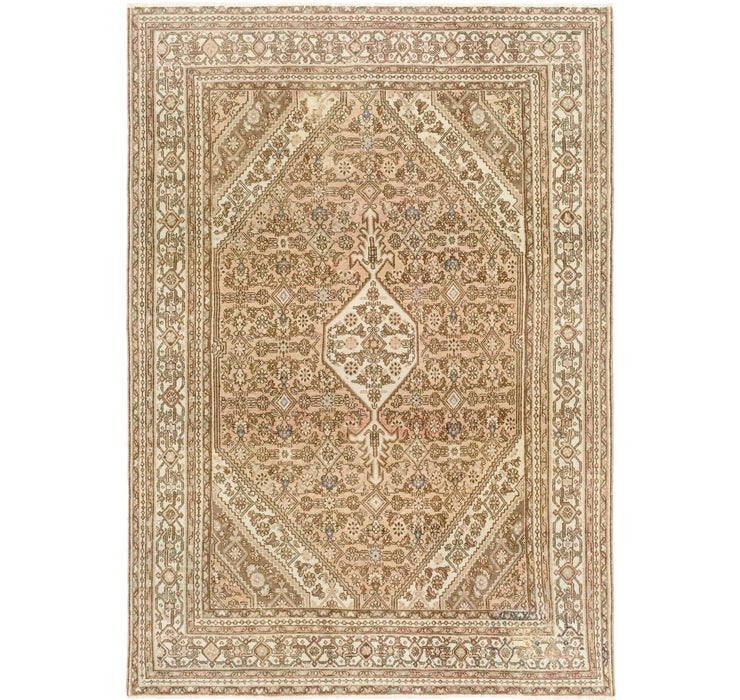 6' 10 x 10' Ultra Vintage Persian Rug