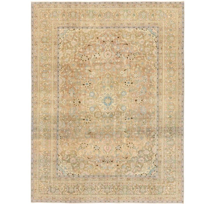9' 6 x 12' 5 Ultra Vintage Persian Rug