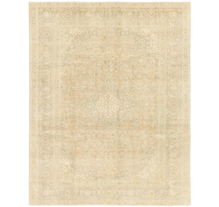 9' 8 x 12' 4 Ultra Vintage Persian Rug