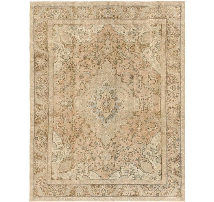 9' 4 x 12' 8 Ultra Vintage Persian Rug
