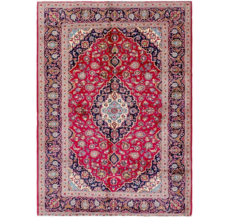 208cm x 290cm Kashan Persian Rug