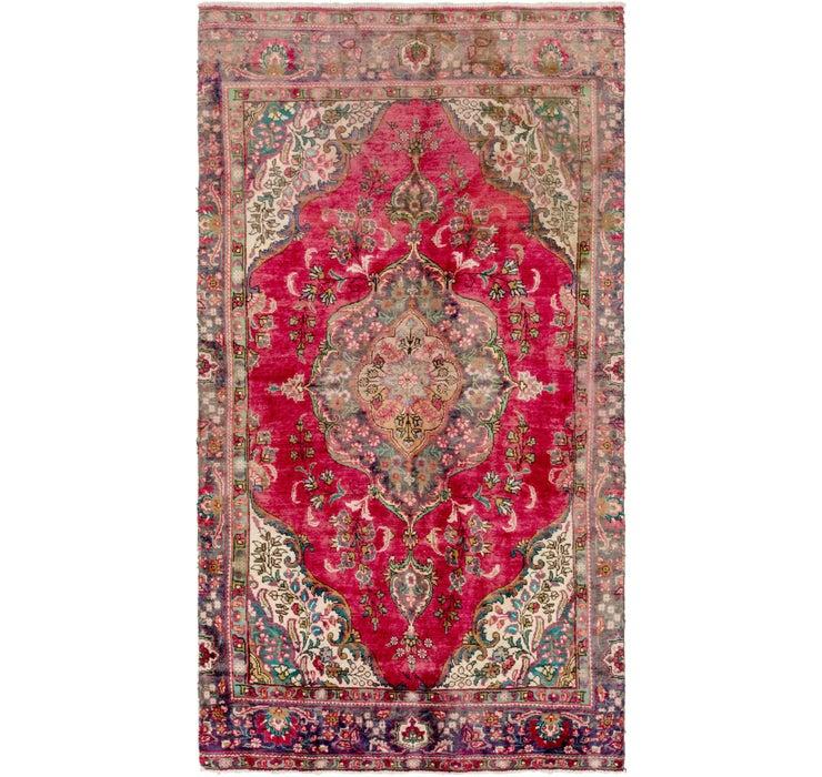 163cm x 305cm Tabriz Persian Rug