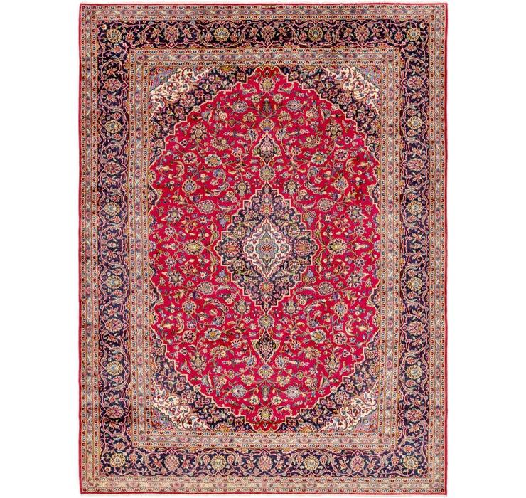 297cm x 390cm Kashan Persian Rug