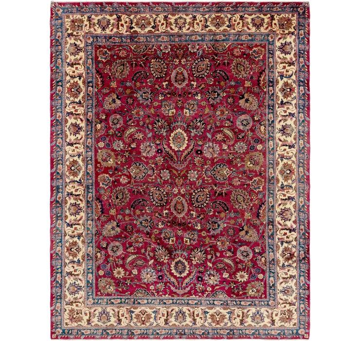 305cm x 400cm Mashad Persian Rug