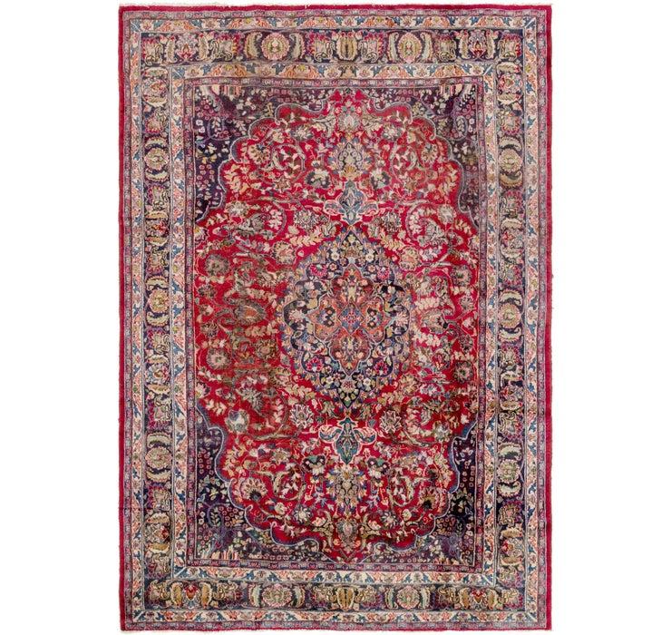 240cm x 360cm Mashad Persian Rug