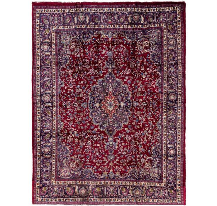 9' 7 x 12' 7 Mashad Persian Rug
