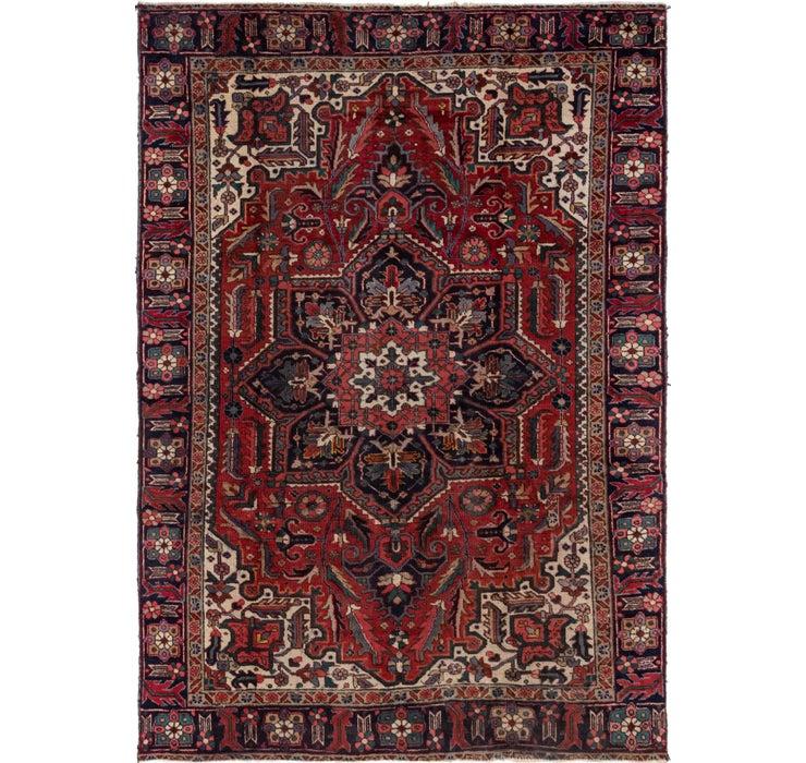 230cm x 328cm Heriz Persian Rug