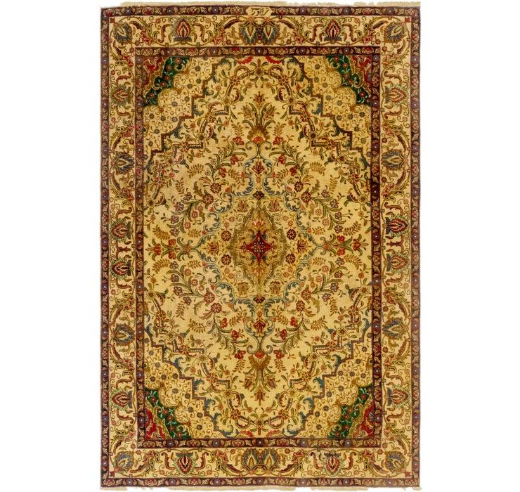 195cm x 292cm Tabriz Persian Rug