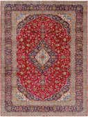 10' x 13' 6 Kashan Persian Rug thumbnail