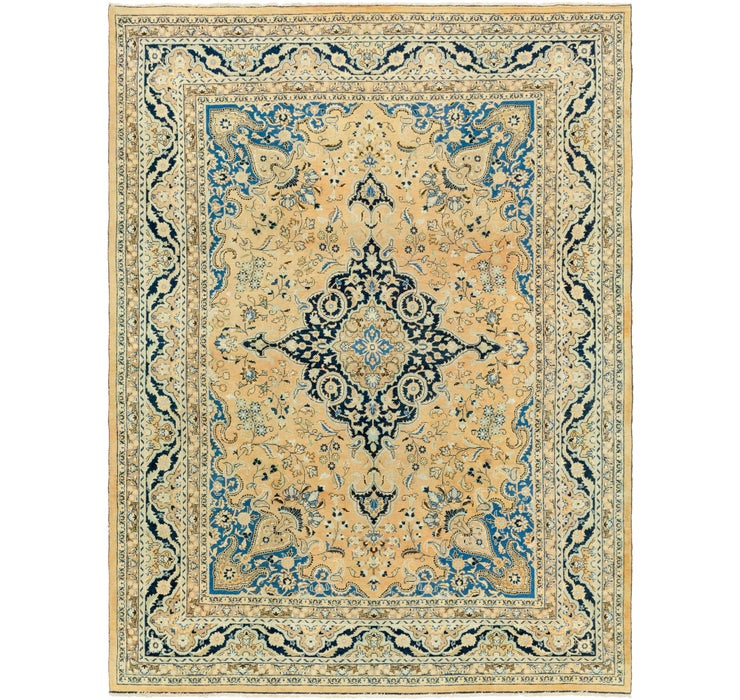 Image of 9' 9 x 12' 9 Mashad Persian Rug