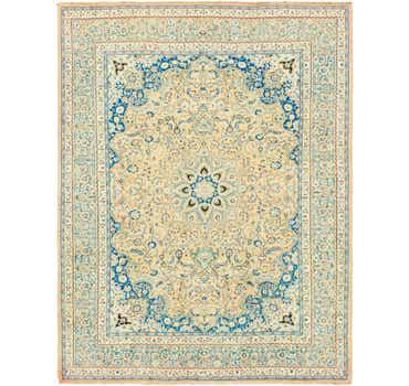 Image of 9' 9 x 12' 8 Mashad Persian Rug