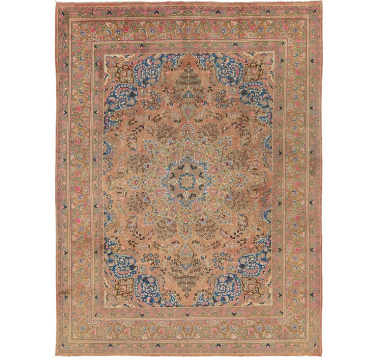 Image of 287cm x 385cm Mashad Persian Rug