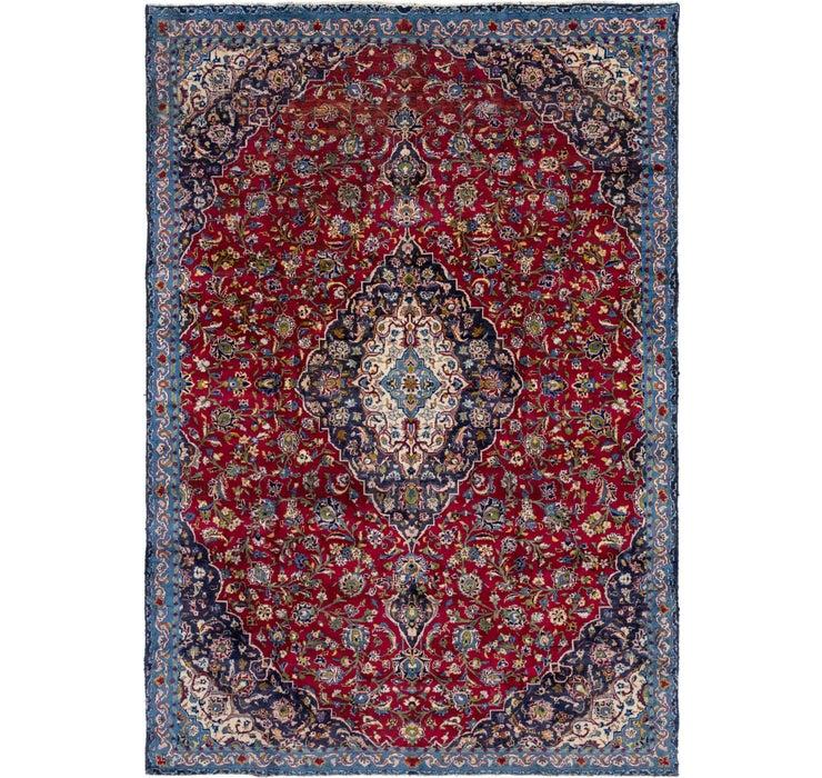7' 4 x 10' 8 Mashad Persian Rug