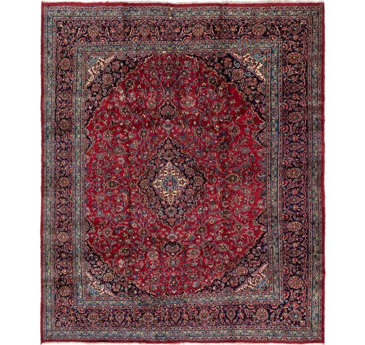 9' 7 x 11' 7 Mashad Persian Rug