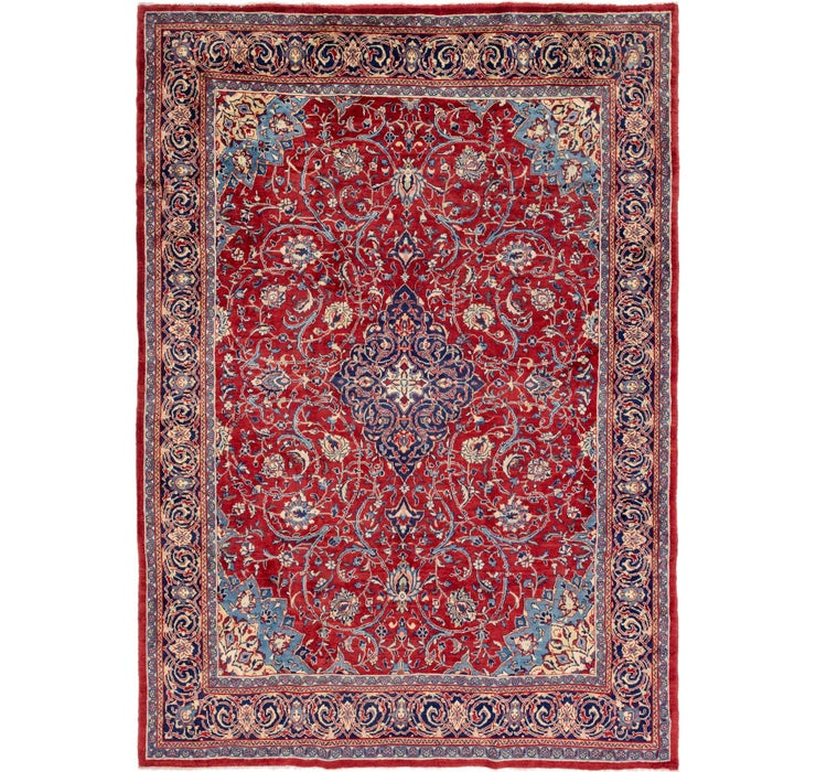 9' x 12' 8 Mahal Persian Rug