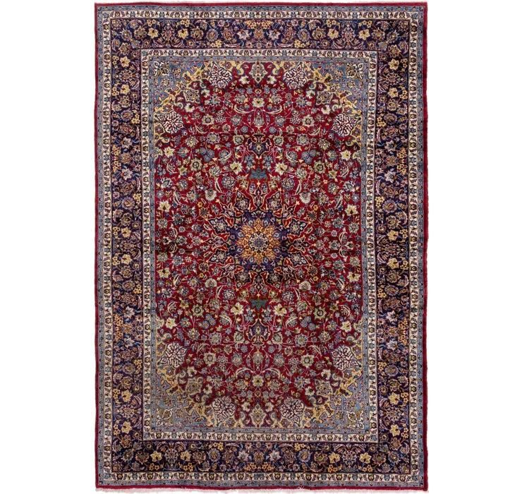 9' 7 x 14' Isfahan Persian Rug