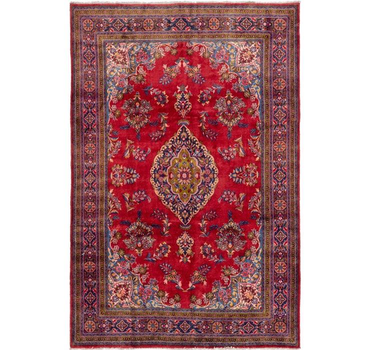 213cm x 325cm Golpayegan Persian Rug