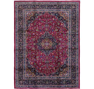 Image of 9' 8 x 12' 10 Mashad Persian Rug