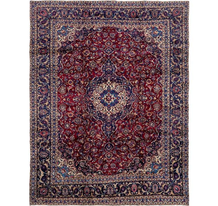 292cm x 370cm Mashad Persian Rug
