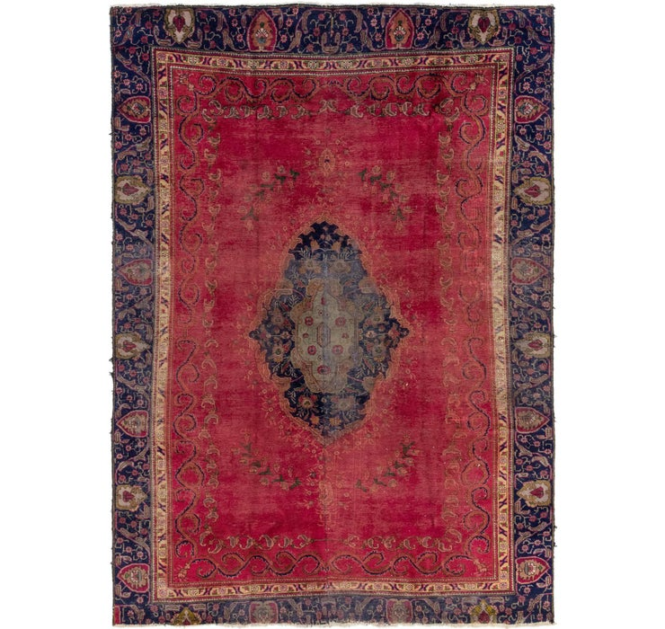 257cm x 350cm Tabriz Persian Rug