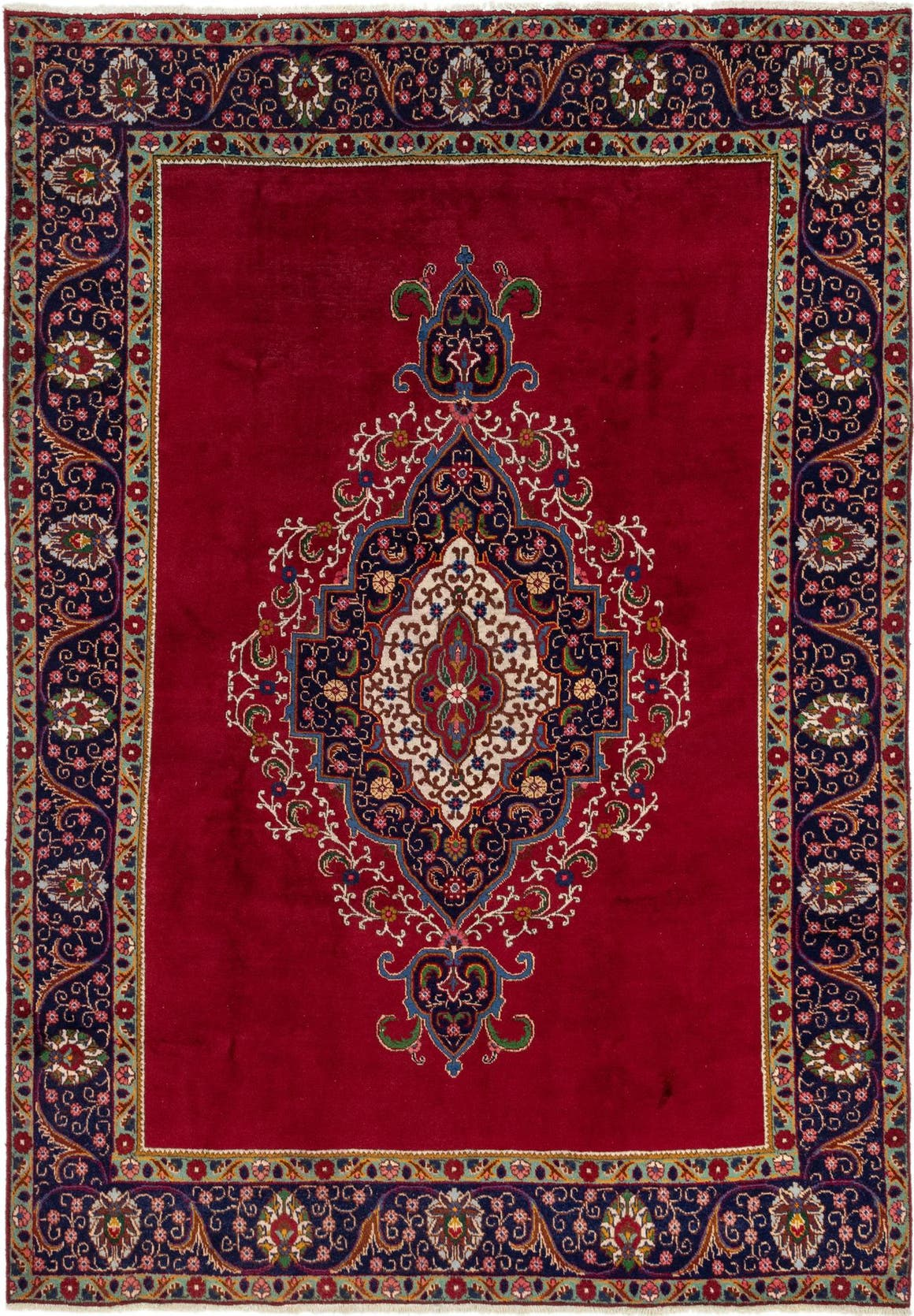 7' 10 x 11' 6 Tabriz Persian Rug main image