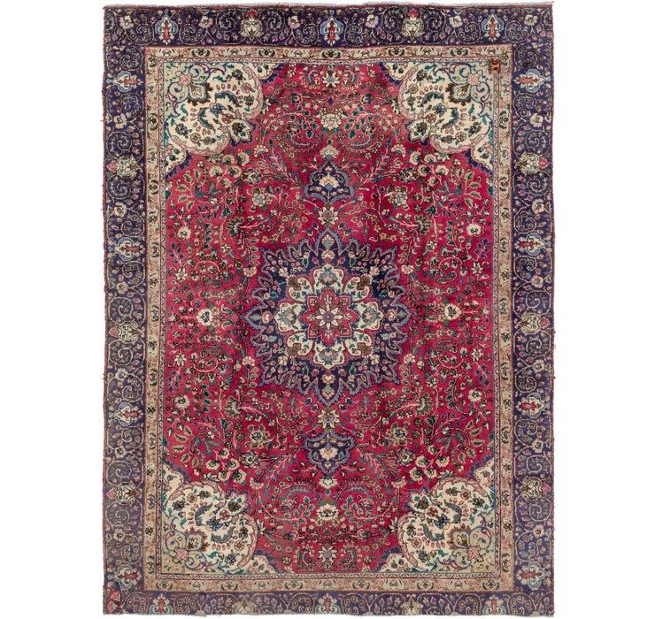 7' 7 x 10' 3 Tabriz Persian Rug