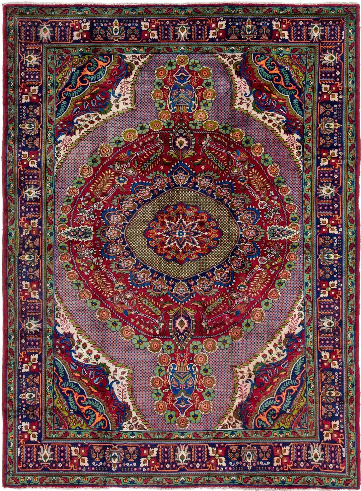 8' 5 x 11' 6 Tabriz Persian Rug main image