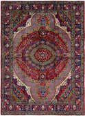 8' 5 x 11' 6 Tabriz Persian Rug thumbnail